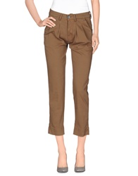 Basicon Casual Pants Khaki