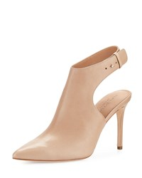 Halston Betty Ankle Strap Bootie Buff