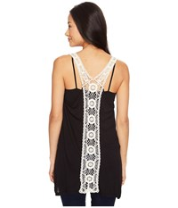 Rock And Roll Cowgirl Tank Top 49 1212 Black Women's Sleeveless