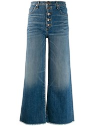 Veronica Beard Wide Leg Jeans Blue