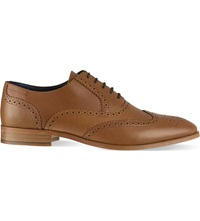 Reiss Bawden Brogues Olive