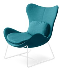 Calligaris Lazy Metal Armchair Blue
