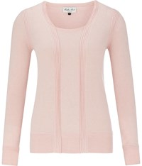 Austin Reed Front Panel Jumper Pale Pink