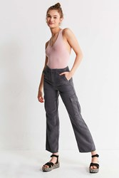 Urban Outfitters Uo Straight Leg Cargo Pant Grey