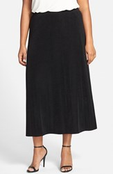 Plus Size Women's Vikki Vi Long A Line Skirt