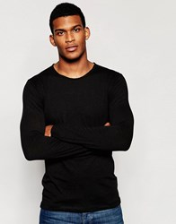 United Colors Of Benetton Long Sleeve Top Black