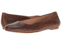 Walking Cradles Blaire Luggage Accordion Perfed Soft Maia Women's Flat Shoes Brown
