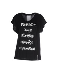Freddy Topwear T Shirts Women Black