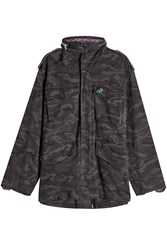 Marc Jacobs Oversized Print Parka With Embellishments
