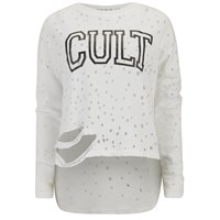 Religion Women's Cult Top White