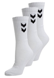 Hummel Basic 3 Pack Sports Socks White
