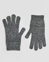 Asos Touch Screen Magic Gloves Mixed Knit Multi