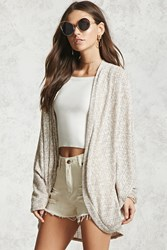 Forever 21 Open Knit Dolman Cardigan Taupe Onerror Javascript Fnremovedom 'Colorid_02