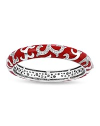 Belle Etoile Royale Stackable Bangle Red
