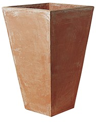 Poggi Ugo Firenze Terracotta Vase Brown