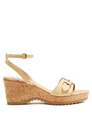 Stella Mccartney Linda Platform Sandals Nude