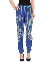 Gypsy05 Trousers Casual Trousers Women Blue