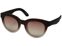 Toms Florentin Matte Ombre Fashion Sunglasses Brown