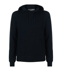 Dolce And Gabbana Cashmere Hooded Sweater Male