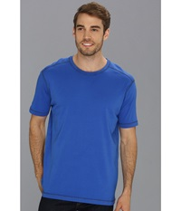 Agave Denim R. August S S Crew Dazzling Blue Men's T Shirt