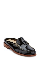 G.H. Bass Women's And Co. Wynn Loafer Mule Black Patent