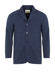 Realm And Empire Lightweight Cotton Jungle Field Jacket Navy