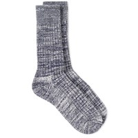 Albam Marl Sock Blue
