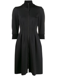 Dorothee Schumacher Sporty Zipped Dress Black