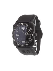Bell And Ross 'Br 03 92 Type Aviation Carbon' Analog Watch