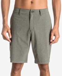 Quiksilver Men's Waterman Gruver Amphibian Shorts Gun Metal