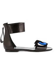 Pierre Hardy 'Oh Roy' Sandals Black