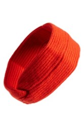 Rag And Bone 'Alexis' Cashmere Headband Red