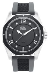 Men's Quiksilver 'The Mariner' Silicone Strap Watch 45Mm