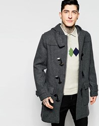 Original Penguin Heavy Wool Coat Grey