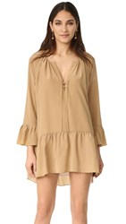 Amanda Uprichard Caleb Dress Camel