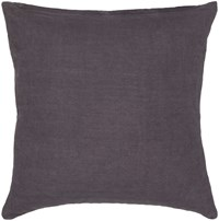 Chandra Textured Contemporary Cotton Pillow Grey 18 Inch Gray