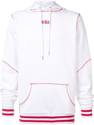 Hood By Air 'Angel Dust' Hoodie White