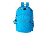 Kipling Seoul Backpack With Laptop Protection Summer Splash Backpack Bags Blue