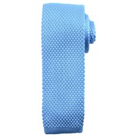 John Lewis Kin By Mercer Knitted Tie Light Blue