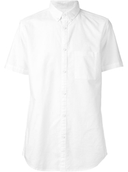 Zanerobe Short Sleeved Shirt White