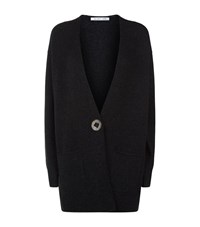 Helmut Lang Long Sleeve Open Cardigan Female Black
