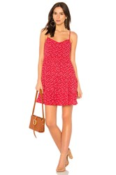 Auguste Daphne Easy Days Mini Dress Red