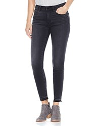 Vince Camuto Released Hem Skinny Ankle Jeans In Coal Wash