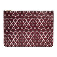 Liberty London Iphis Large Pouch Oxblood