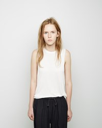 Organic By John Patrick Muscle Tee Off White