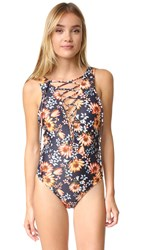 Beach Riot Kira One Piece Bali Floral