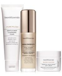 Bareminerals 3 Pc. Skinsorials Purify Empower Moisturize Normal To Dry Skin Set A 82 Value No Color