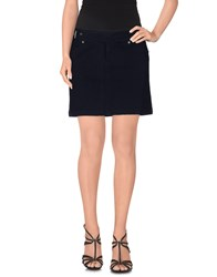 Polo Jeans Company Mini Skirts Dark Blue