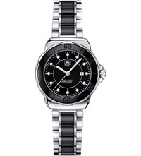 Tag Heuer Formula 1 Steel And Ceramic Diamond Dial Watch 32Mm Ceramic Black