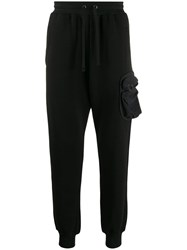Damir Doma Side Pocket Track Pants Black